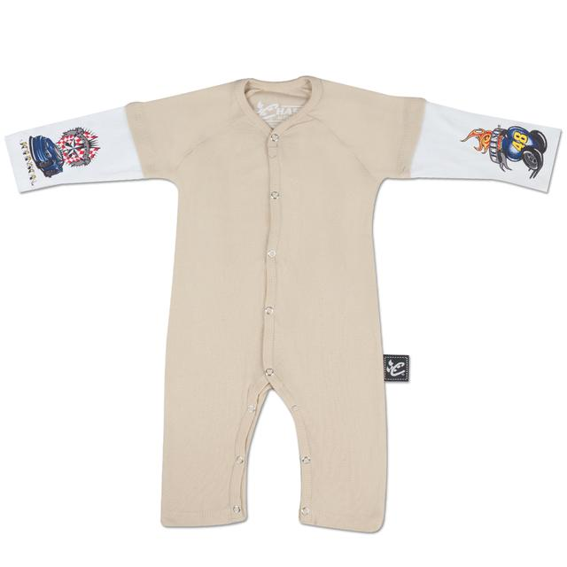 Hendrick Motorsports Jimmie Johnson #48 Layered Sleeper Onesie