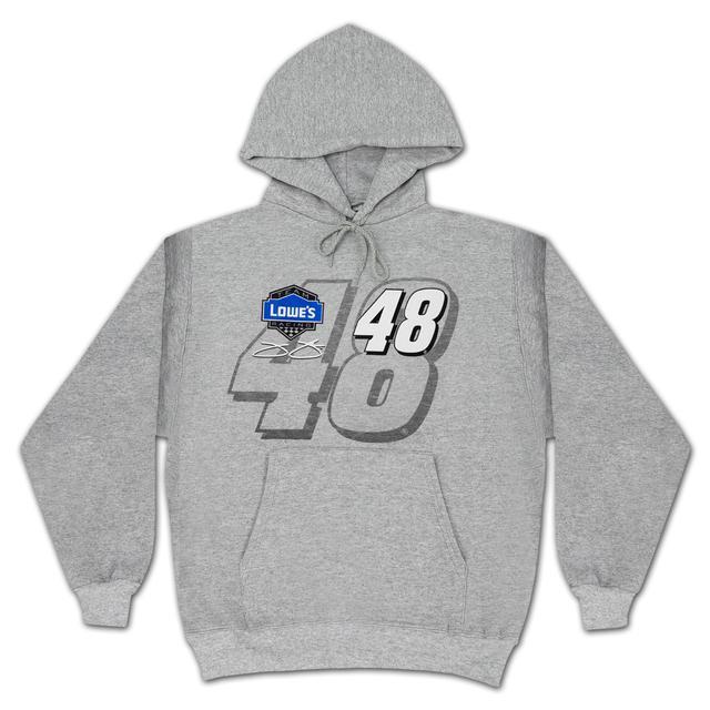 Hendrick Motorsports Jimmie Johnson #48 Straight Away Number Hoodie