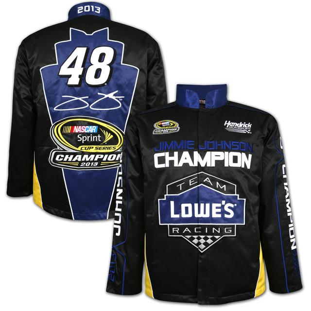 Hendrick Motorsports Jimmie Johnson #48 2013 Sprint Cup Champion Replica Uniform Jacket