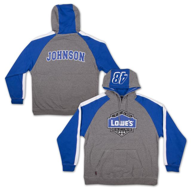 Hendrick Motorsports Chase Authentics Jimmie Johnson - Lowe's Adult Huzu Fleece Hoodie