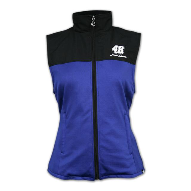 Hendrick Motorsports Chase Authentics Jimmie Johnson - Ladies Colorblock Fleece Vest