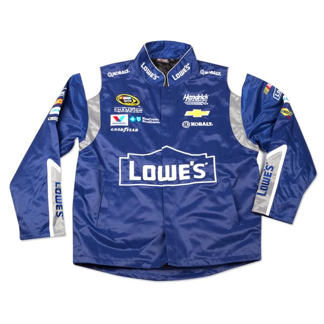 Hendrick Motorsports Jimmie Johnson 2015 Chase Authentics Adult Official Replica Uniform Jacket - LG