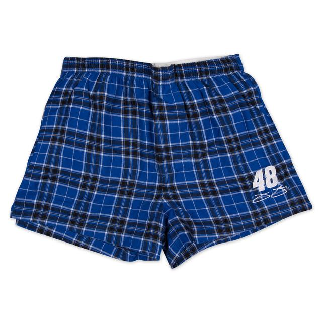 Hendrick Motorsports Jimmie Johnson Men's Flannel Boxer