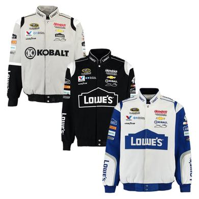 Hendrick Motorsports Jimmie Johnson #48 NASCAR Cotton Twill Driver Jacket