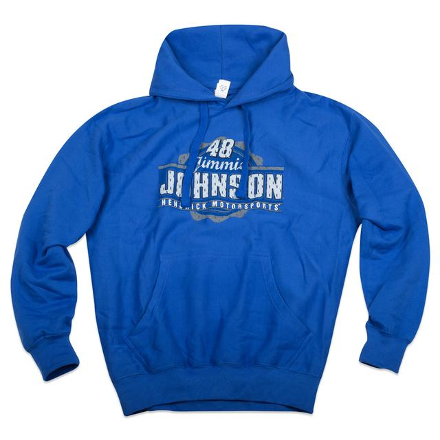 Hendrick Motorsports Jimmie Johnson  #48 Men's Varsity Pullover Hoodie