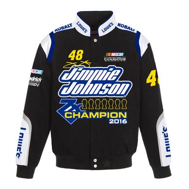 Hendrick Motorsports Jimmie Johnson #48 2016 Sprint Cup Champion Twill Jacket