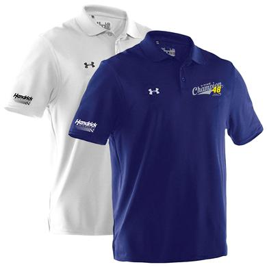 Hendrick Motorsports Jimmie Johnson 2016 Champion Under Armour Polo