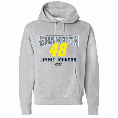 Hendrick Motorsports Jimmie Johnson 7X Champion Hoodie