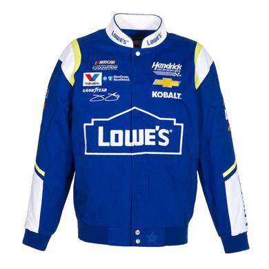 Hendrick Motorsports Jimmie Johnson 2017 Lowe's Twill Jacket