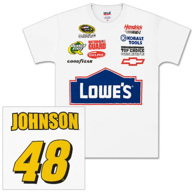 Hendrick Motorsports Jimmie Johnson #48 Youth Speedway Name/Number T-Shirt