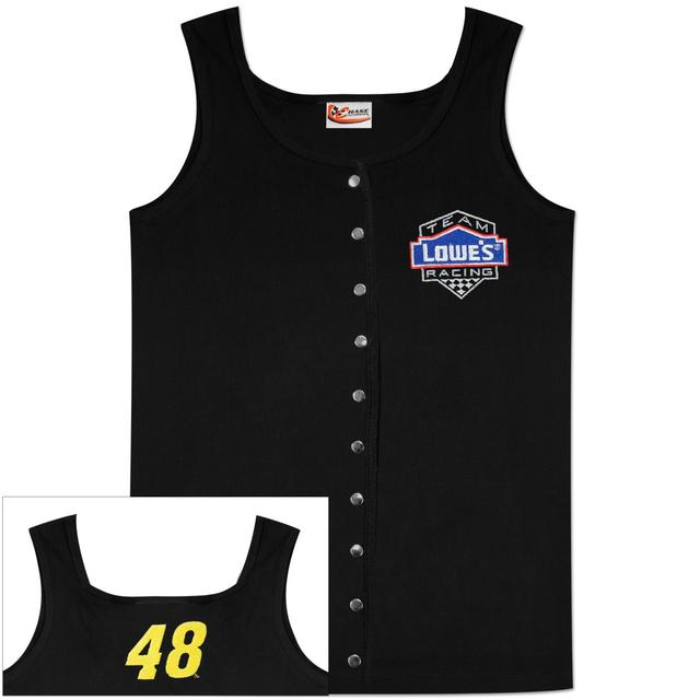 Hendrick Motorsports Jimmie Johnson #48 Ladies Snap Tank