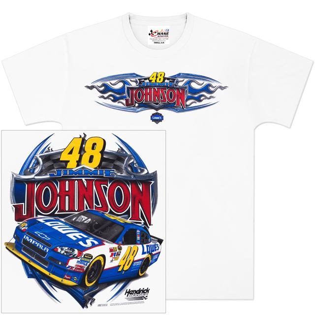 Hendrick Motorsports Jimmie Johnson #48 Shaft T-Shirt