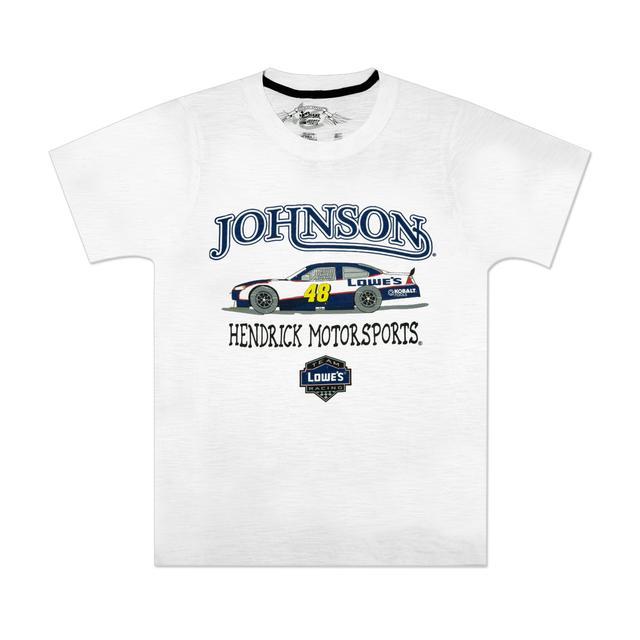 Hendrick Motorsports Jimmie Johnson #48 Youth Slub T-Shirt