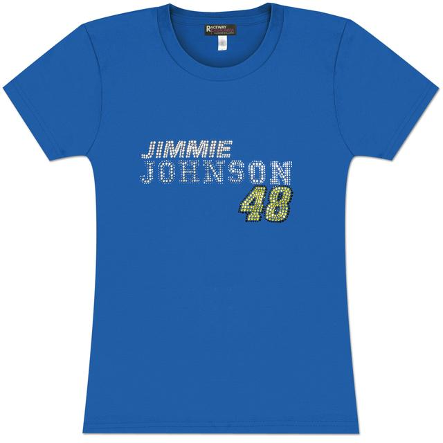 Hendrick Motorsports Jimmie Johnson #48 Team Juniors Crystal T-Shirt