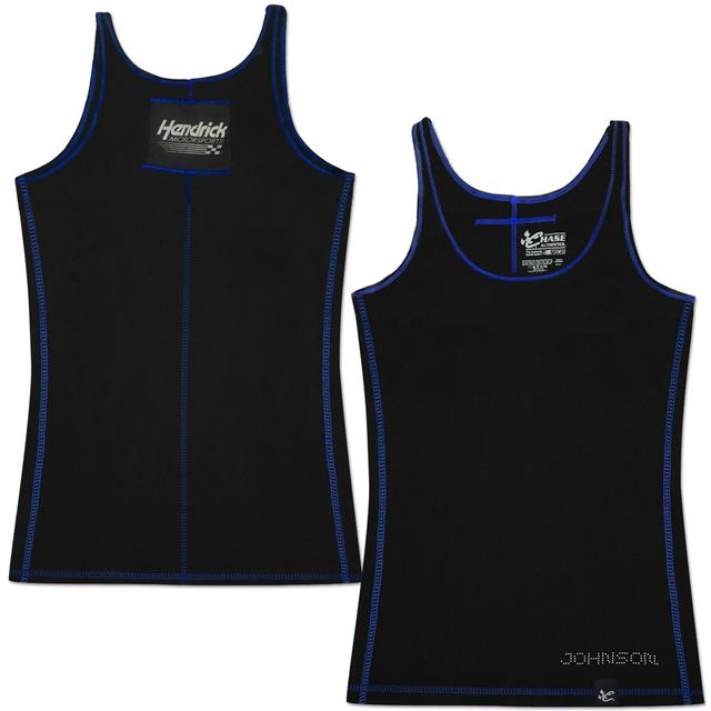 Hendrick Motorsports Jimmie Johnson #48 Lady Contrast Stitch Tank Black
