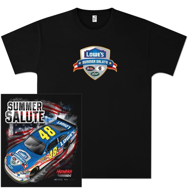 Hendrick Motorsports Jimmie Johnson #48 Summer Salute T-shirt