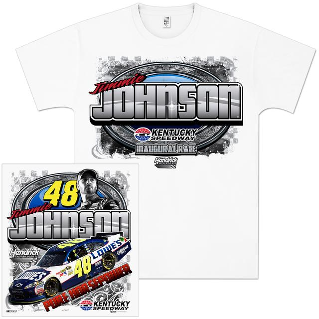 Hendrick Motorsports Jimmie Johnson #48 Kentucky Inaugural Race T-shirt