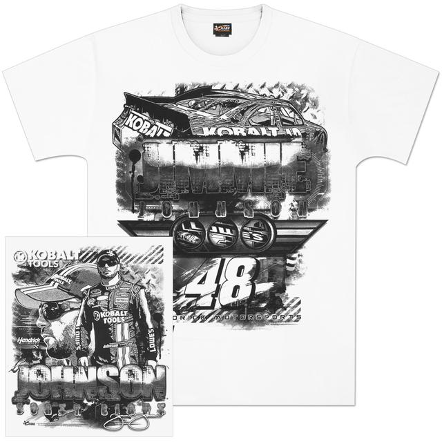 Hendrick Motorsports Jimmie Johnson #48 Kobalt Draft T-shirt