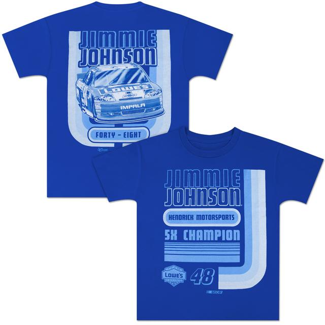 Hendrick Motorsports Jimmie Johnson #48 Lowe's Youth U-Turn T-shirt