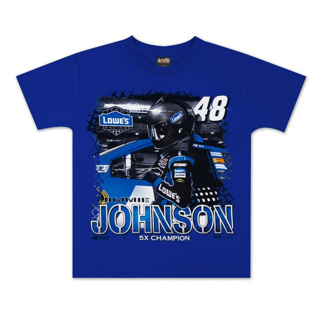 Hendrick Motorsports Jimmie Johnson #48 Lowes Youth Showtime T-shirt