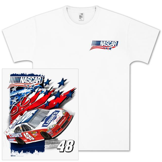 Hendrick Motorsports Jimmie Johnson Lowes NASCAR Unites T-shirt