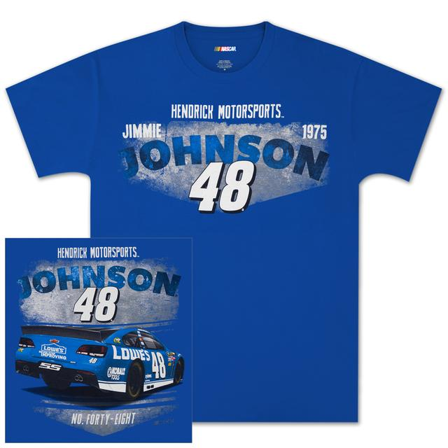 Hendrick Motorsports Jimmie Johnson #48 Vintage Tin T-shirt