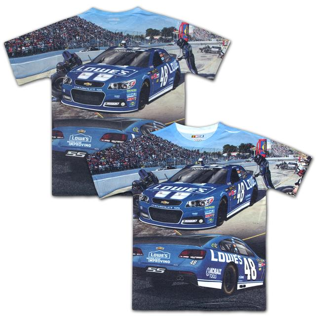 Hendrick Motorsports Jimmie Johnson #48 All Over Sublimated T-shirt