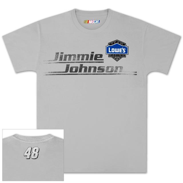 Hendrick Motorsports Jimmie Johnson Lowes Vintage Stripe T-shirt