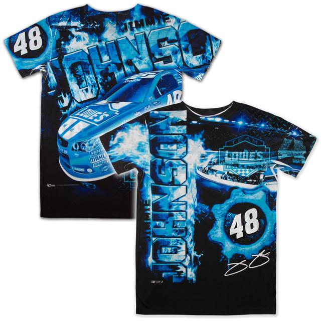 Hendrick Motorsports Jimmie Johnson #48 Lowes Aerodynamic Sublimated T-shirt