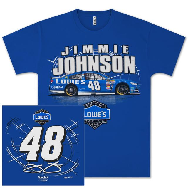 Hendrick Motorsports Jimmie Johnson #48 Lowes SideSwipe T-shirt