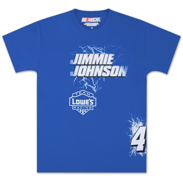 Hendrick Motorsports Jimmie Johnson Lowe's Electric T-shirt