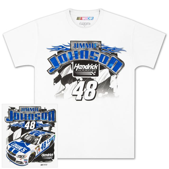 Hendrick Motorsports Jimmie Johnson #48 Loud and Proud T-shirt
