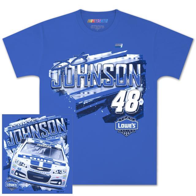 Hendrick Motorsports Jimmie Johnson #48 Lowe's Chassis T-shirt