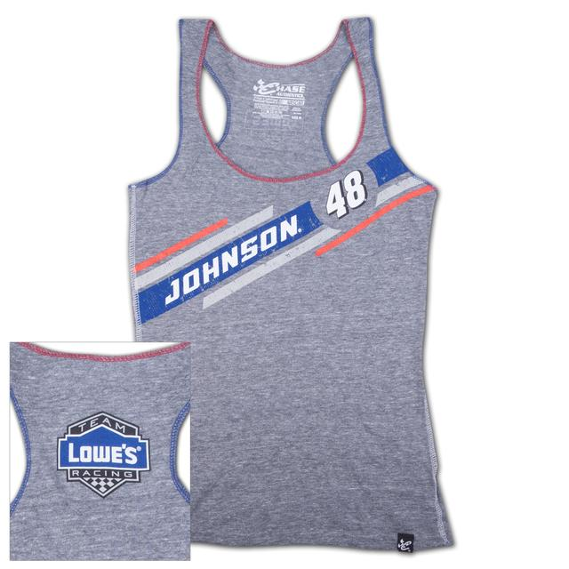 Hendrick Motorsports Jimmie Johnson #48 Lowe's Ladies Tailgate Tank