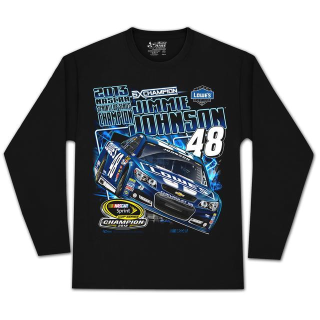 Hendrick Motorsports Jimmie Johnson #48 2013 Sprint Cup Champion Long-sleeve T-shirt