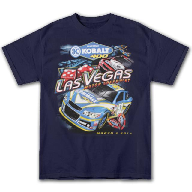 Hendrick Motorsports Kobalt 400 Power to Win Event T-Shirt