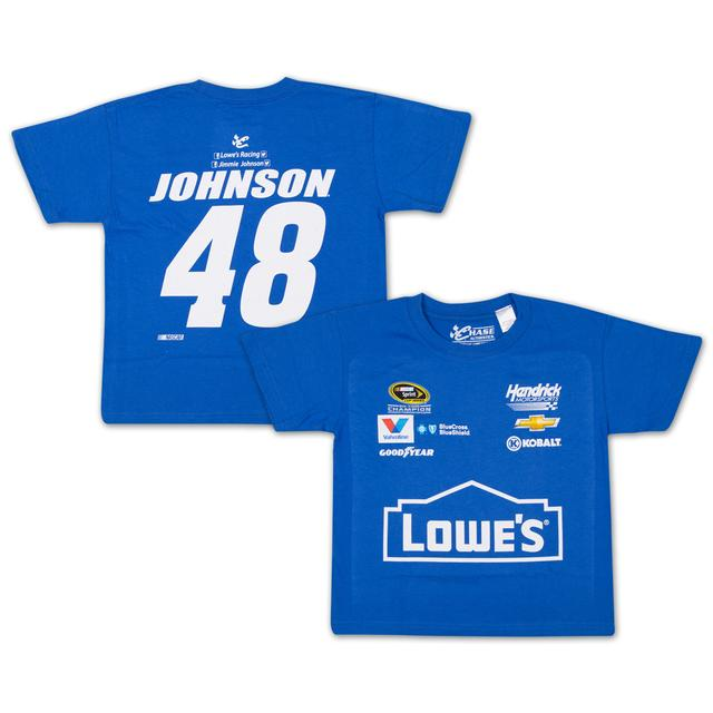 Hendrick Motorsports Jimmie Johnson - 2015 Chase Authentics Lowe's Youth Uniform Tee