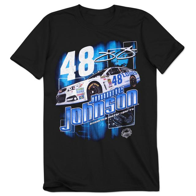 Hendrick Motorsports Jimmie Johnson - 2014 Chase Authentics Lowe's Adult Burnout Tee