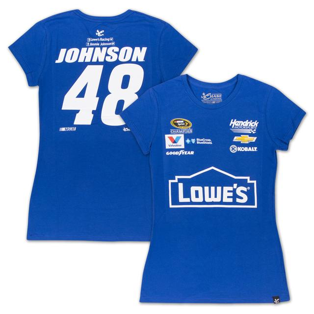 Hendrick Motorsports Jimmie Johnson - 2015 Chase Authentics Lowe's Ladies Uniform Tee