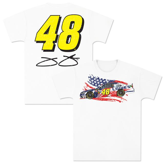 Hendrick Motorsports Jimmie Johnson LTD Edition EXCLUSIVE Patriotic Tee
