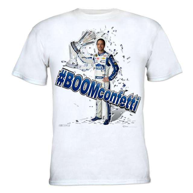 Hendrick Motorsports Jimmie Johnson #48 - Lowe's #BOOMconfetti T-shirt