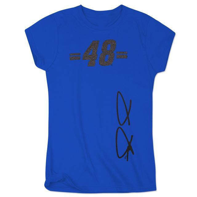 Hendrick Motorsports Jimmie Johnson 2015 Ladies Glitter Girl Crew Shirt