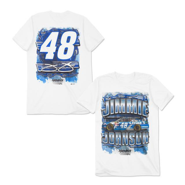 Hendrick Motorsports Jimmie Johnson 2015 Flameout T-Shirt