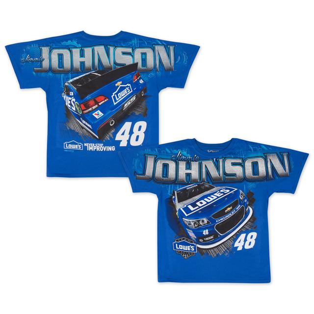 Hendrick Motorsports Jimmie Johnson 2015 Chase Authentics Adult Total Print Tee