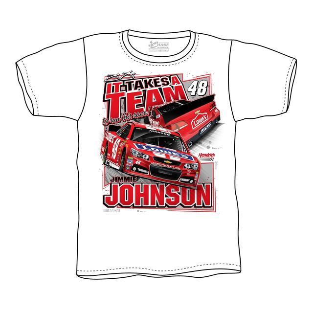 Hendrick Motorsports Jimmie Johnson #48 2014 Lowe's Red Vest Tee
