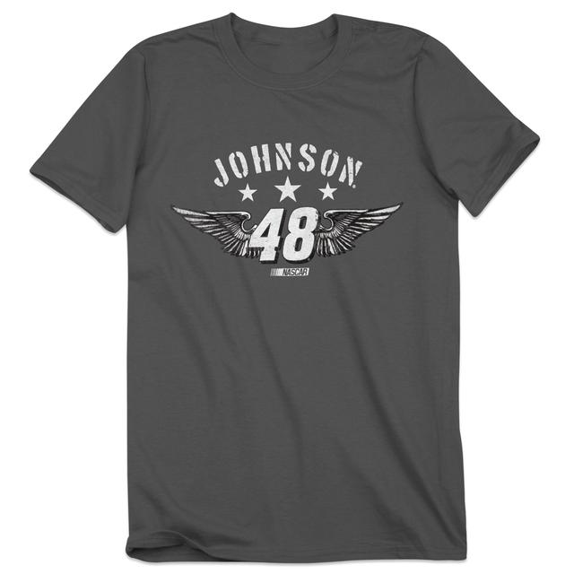Hendrick Motorsports Jimmie Johnson #48 Star Wings T-Shirt