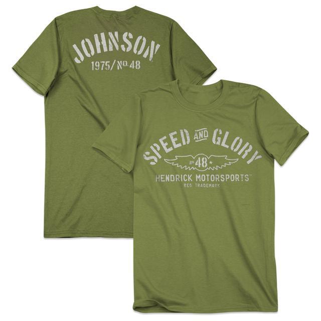 Hendrick Motorsports Jimmie Johnson #48 Men's Speed & Glory T-Shirt