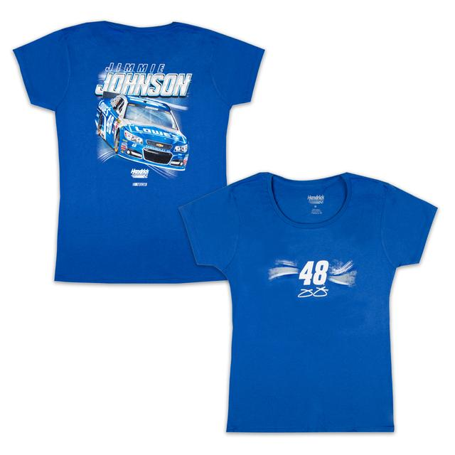 Hendrick Motorsports Jimmie Johnson #48 Ladies Full Throttle T-Shirt