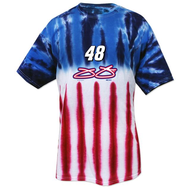 Hendrick Motorsports Jimmie Johnson #48 American Tye Dye T-Shirt