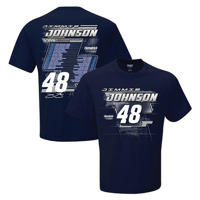 Hendrick Motorsports Jimmie Johnson #48 2016 S/S Schedule T-Shirt